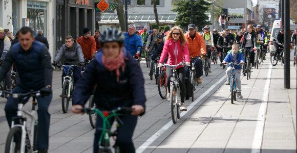Lietuviai nuperka vis mažiau dviračių