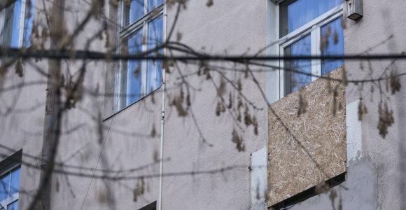 Už sunaikintus balkonus Vilniaus centre – 26 tūkst. eurų sąskaita