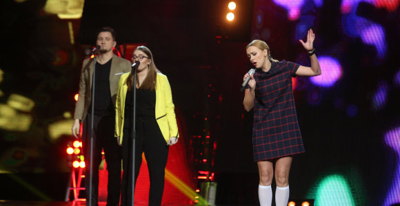 """""""Eurovizijos"""" atrankoje dar dviem dalyviais mažiau – iškrito Baiba ir Berta Timinskaitė"""