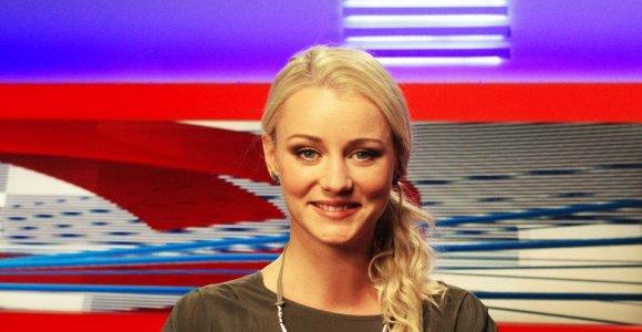 Sporto žinių vedėja Asta Žukaitė dalyvaus šokių ant ledo projekte