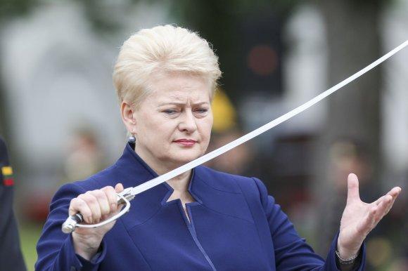 """Irmanto Gelūno/15min.lt nuotr./Daliai Grybauskaitei ne sykį skriejo priekaištai dėl """"Spindulio"""" istorijos"""