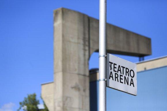 Irmanto Gelūno/15min.lt nuotr./Teatro arena Vilniuje