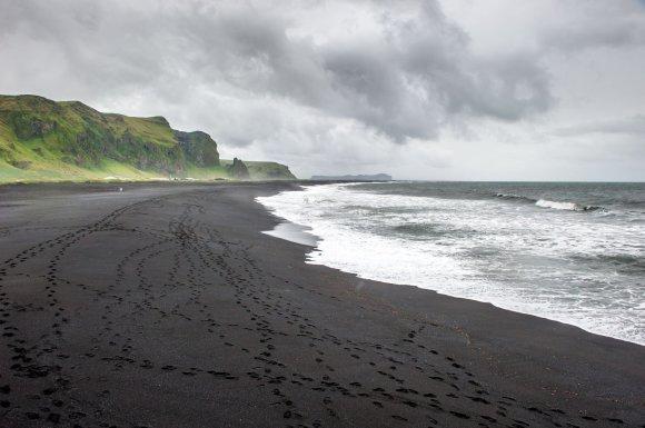 123rf.com nuotr./Vik paplūdimys Islandijoje