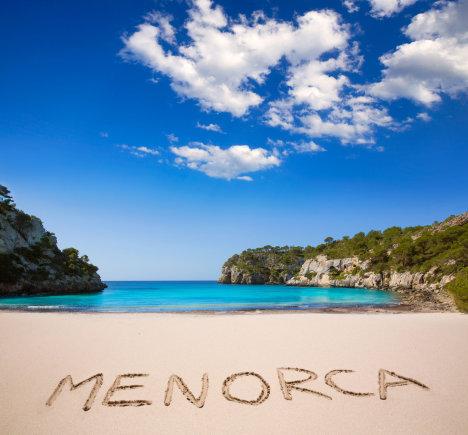 123rf.com nuotr./Cala Macarella, Menorka, Ispanija.