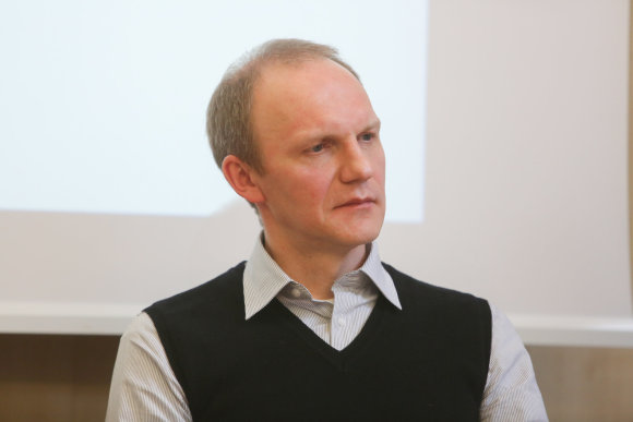 "Juliaus Kalinsko/15min.lt nuotr./""Strategic Staffing Solutions"" Lietuvai vadovas Tomas Balkelis"