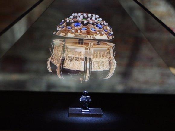 Bažnytinio paveldo muziejaus nuotr./Holograma Vilniaus katedros požemiuose