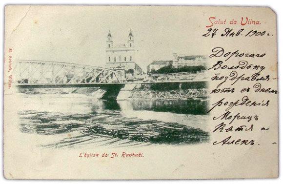 Nuotr. iš Vikipedijos/Vilniaus Žaliasis tiltas XIX a. pabaigoje