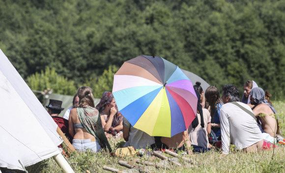 """Luko Balandžio/15min.lt nuotr./""""Rainbow Gathering"""""""