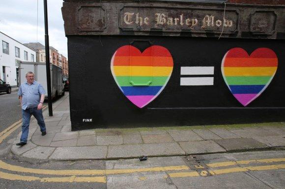 """AFP/""""Scanpix"""" nuotr./Airijoje istorinis referendumas dėl tos pačios lyties santuokų"""