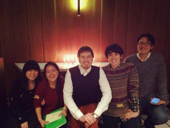 Asmeninio albumo nuotr./Studijos Tarptautiniame krikščioniškame universitete Japonijoje