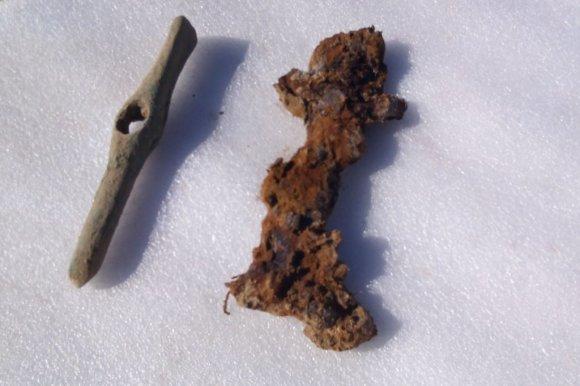 http://buimvd.ru nuotr./Skitų valdovo kapavietėje rasti įrankiai