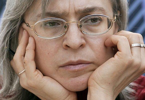 "AFP/""Scanpix"" nuotr./Ana Politkovskaja"