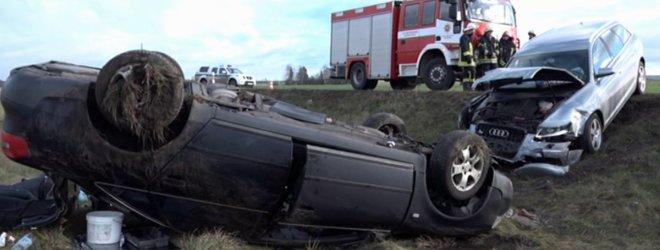 """Mirtina dviejų """"Audi A6"""" kaktomuša prie Marijampolės – """"Via Baltica"""" kelyje žuvo vyras"""