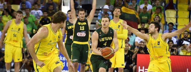Pirmasis antausis: 19 taškų deficito nepanaikinusi Lietuva pralaimėjo Australijai 75:82