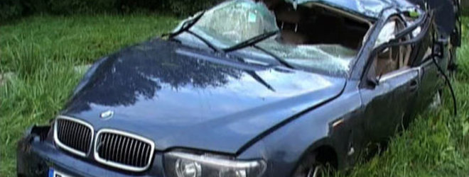 LNK nuotr./Ekspertai nustatė, kad prieš avariją šio BMW vairuotojas kone dvigubai viršijo leistiną greitį.