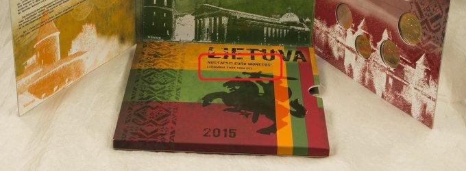 Parduodamas lankstinukas apie lietuvišką eurą – su gramatinėmis klaidomis