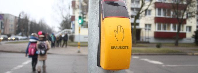 Vairuotojų elgesiui pėsčiųjų perėjose – ypatingas policijos dėmesys