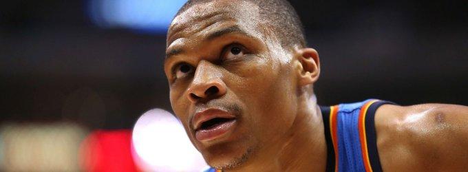 """Be Kevino Duranto žaidžianti """"Thunder"""" prarado ir kitą lyderį – Russellą Westbrooką"""