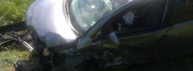 Avarija Utenoje: automobiliai kaktomuša susidūrė prie Klovinių užtvankos