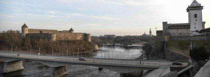 Rusai Estijos mieste Narvoje: ar tai tikrai penktoji Vladimiro Putino kolona?
