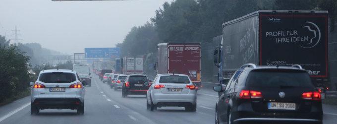 Kelionė iš Vilniaus į Paryžių: kada Vokietijos keliai blogesni nei Lenkijos?