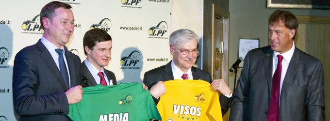 Padelio teniso kortus Vilniuje atidarys visų žvaigždžių mačas