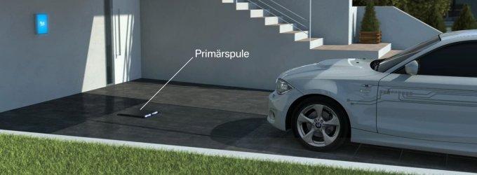 BMW sukūrė būdą, kaip elektromobilių ir hibridų baterijas įkrauti be laidų