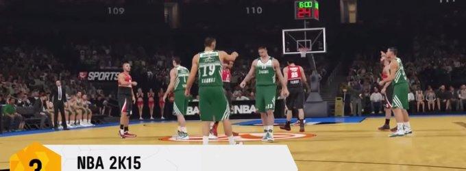 Perkamiausių Lietuvoje žaidimų dešimtukas: krepšinis krepšinio šalyje – trečias