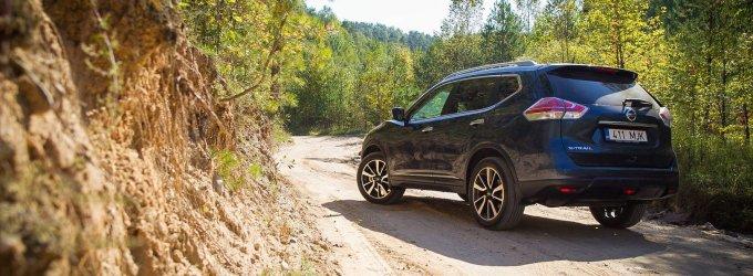 """""""Nissan X-Trail"""" evoliucija apgauna"""