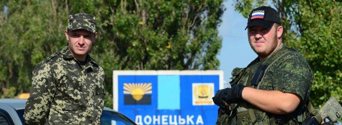 Donbaso teroristai laukia, kada Rusijos reguliarią armiją pakeis privačios rusų armijos