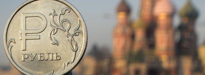 Rusijos gyventojų realiosios pajamos pernai sumažėjo 7,3 proc.