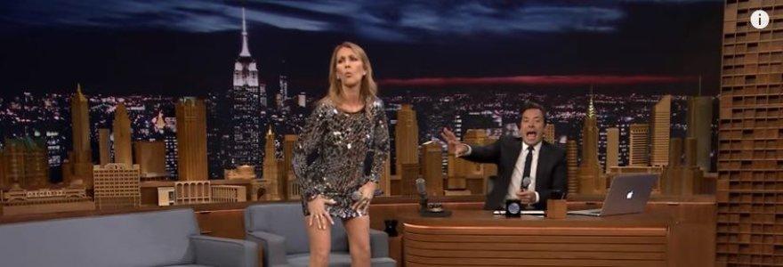 Celine Dion atlikta muzikinė garsenybių parodija tapo interneto hitu: žiūrėkite video