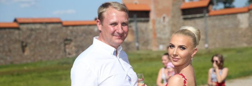 Monika ir Andrius Šedžiai kreipėsi į teismą dėl skyrybų
