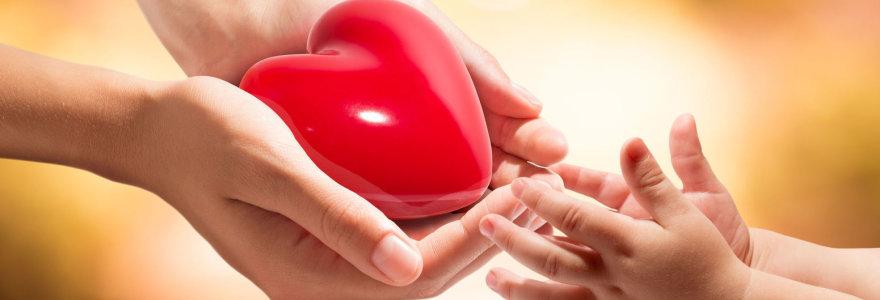 Santariškėse vyksta širdies transplantacijos operacija, kūdikio širdis per pūgą atgabenta iš Prancūzijos