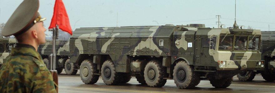 """Kaliningrado sritis tapo tikru ginklų arsenalu: V.Putinas čia permetė """"Iskander"""" ir naikintuvus"""