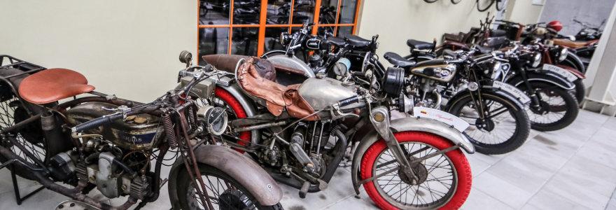 Tarpukario motociklų įdomybės: vieni neturi virinimo siūlių, kitų varikliai verčia tikėti stebuklais