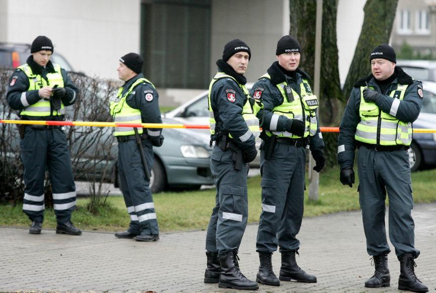 Policininkai