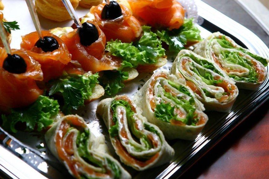 салат с семгой в лаваше рецепт с фото