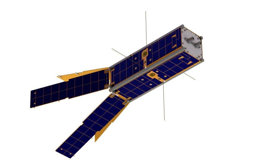 """Taip turėtų atrodyti sukonstruotas """"LituanicaSAT-2"""""""