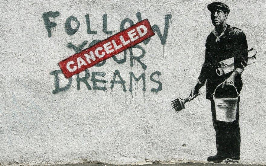 Banksy grafitis