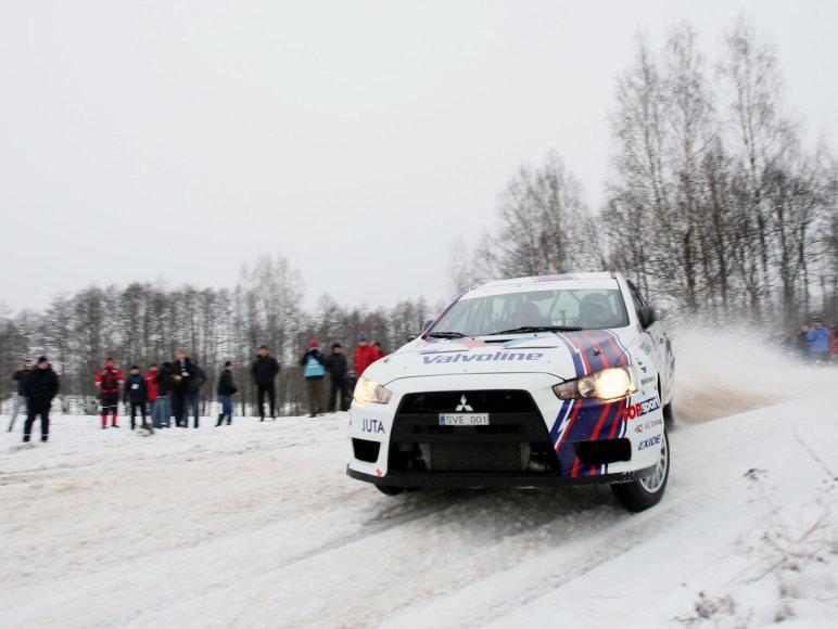 """""""Halls Winter Rally"""": 5 GR """"Samsonas Motorsport"""""""