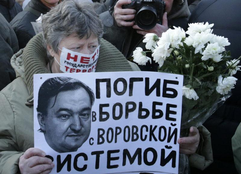 Sergejus Magnickis Rusijoje tapo kovos su korupcija simboliu
