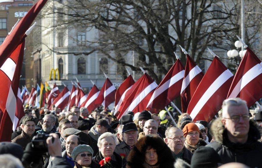 Latvija baiminasi Rusijos įtakos.