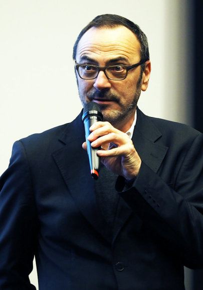 Tomo Ivanausko nuotr./Rezisierius Olivier Jahanas