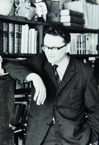 Asmeninio albumo nuotr./Algimantas Baltakis, 1968 m.