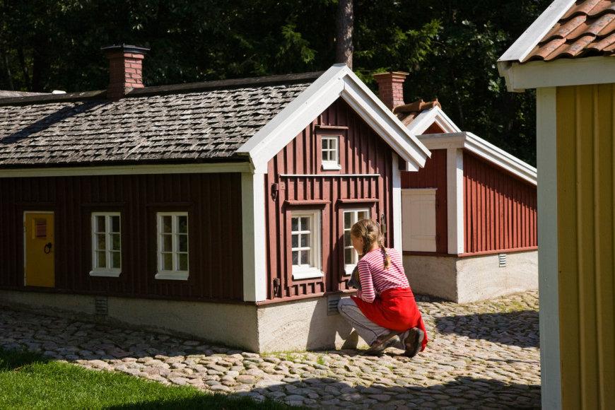 Vida Press nuotr./Astrid Lindgren teminis parkas Vimerbyje, Švedijoje