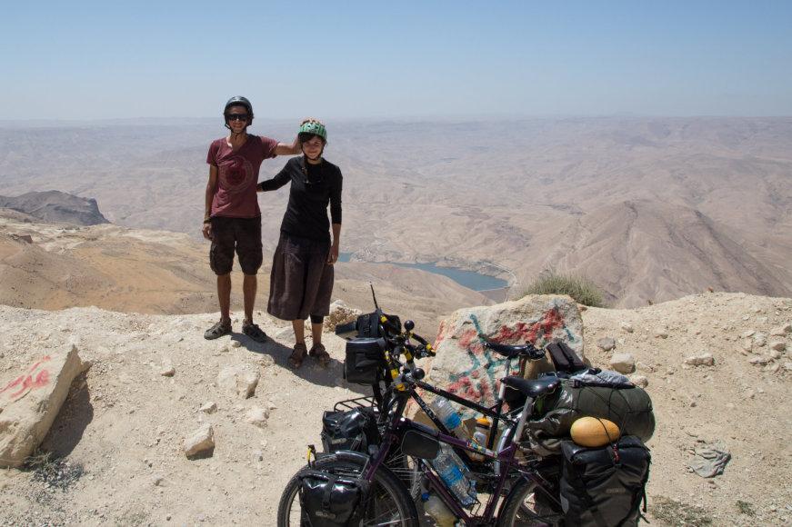 Akvilės Norkutės nuotr./Akvilė ir jos draugas Agnius Jordanijoje