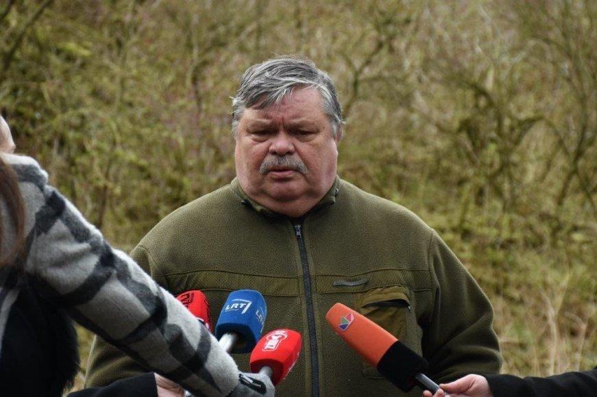 Neringos savivaldybės nuotr./Ekologas Viktoras Kolokšanskis