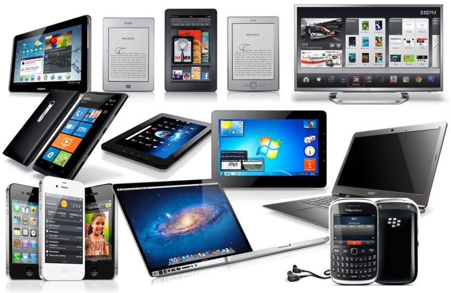 """Įrenginiai, kurių šiuo metu pirkti nepatartina: telefonai """"iPhone"""", """"Windows 7"""" planšetės, """"ultrabook"""" nešiojamieji kompiuteriai, kompiuteriai """"MacBook Pro"""", """"Android"""" planšetės, išmanieji televizoriai, """"Windows Phone"""" telefonai, elektroninės skaityklės ir """"BlackBerry"""" telefonai."""
