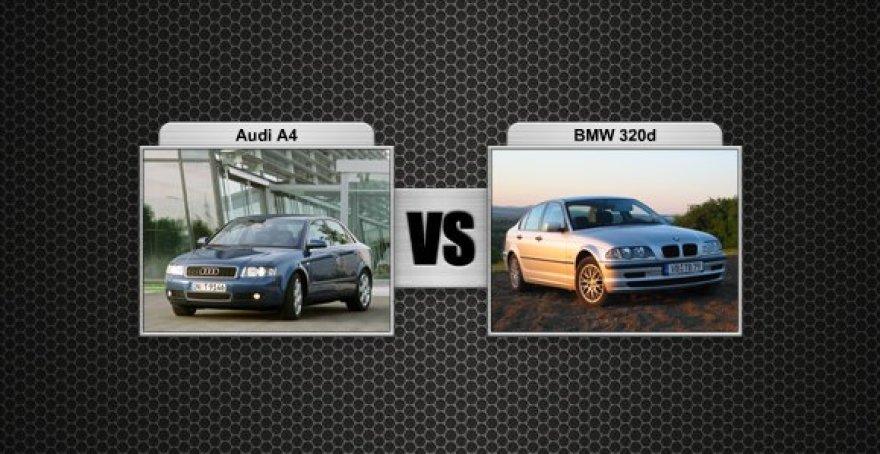 Audi A4 prieš BMW 320d
